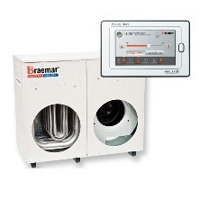 Braemar TQ420 4.7 Star Rating 20kw Heater with logo on white background
